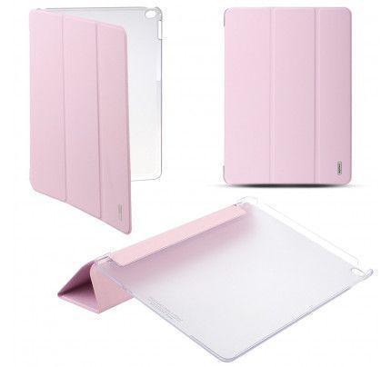 Θήκη Remax Jane για iPad Air 2 ροζ χρώματος ( λειτουργία on/ off οθόνης , stand )