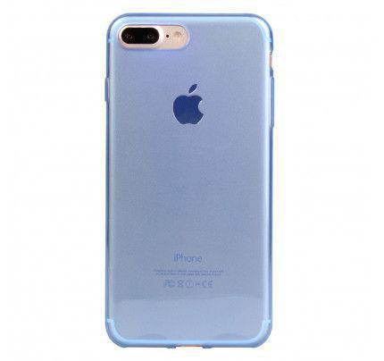 Θήκη TPU Ultra Slim 0,3mm για iPhone 7 Plus διάφανη μπλε