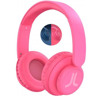Ασύρματα ακουστικά WESC με χρόνο αναπαραγωγής 9 ωρών ή χρόνος ομιλίας 11 ωρών ροζ χρώματος 41420