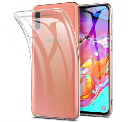 Θήκη OEM TPU Slim για Samsung Galaxy A70 διάφανη