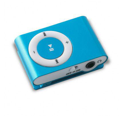 MP3 PLAYER MICROSD BLUE