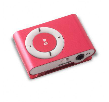 MP3 PLAYER MICROSD PINK