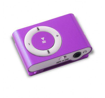 MP3 PLAYER MICROSD PURPLE