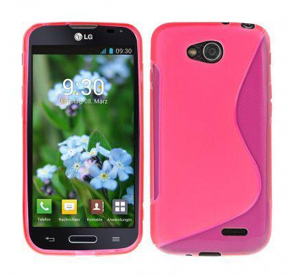 Θήκη TPU S-Line για LG L90 pink