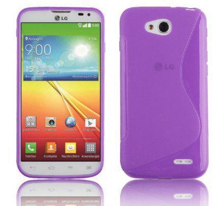 Θήκη TPU S-Line για LG L90 purple
