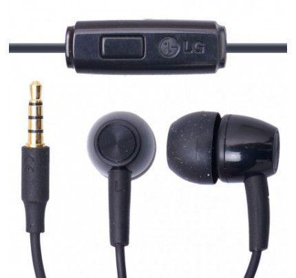 LG Headset SGEY0007610 /12 Black (χωρίς συσκευασία)