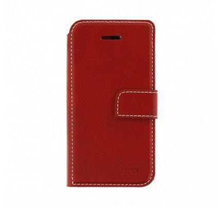 Θήκη Molan Cano Issue Book για Samsung Galaxy J7 2017 J730 κόκκινου χρώματος ( θήκες για κάρτες ,χρήματα)