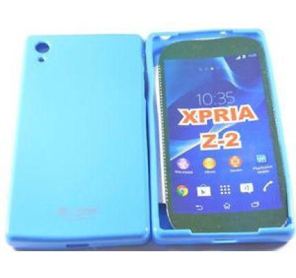 Θήκη TPU για Sony Xperia M2 Blue