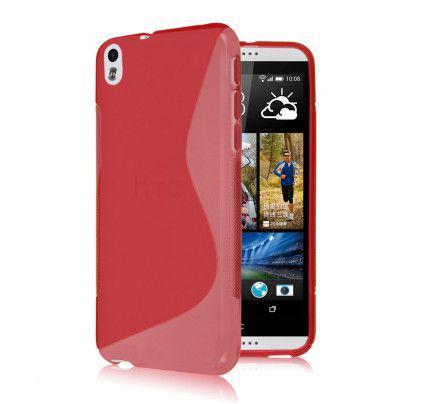 Θήκη TPU S-Line για HTC Desire 816 Red
