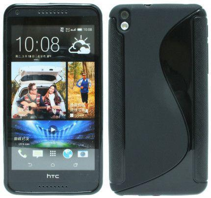Θήκη TPU S-Line για HTC Desire 816 Black