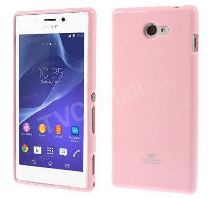 Θήκη TPU για Sony Xperia M2 Pink