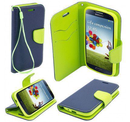 Θήκη OEM Fancy Diary για Lenovo K5 / K5 Plus μπλε πράσινου χρώματος