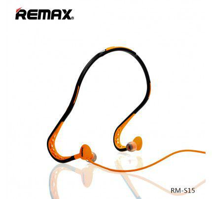 Remax RM-S15 Sport Stereo Headset 3,5mm Orange