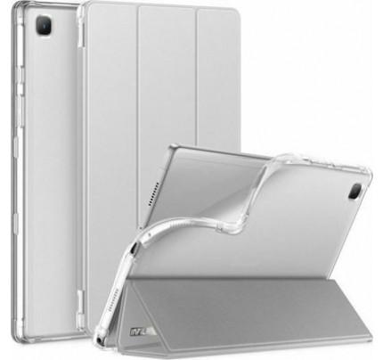 Θήκη INFILAND CLASSIC STAND για Samsung GALAXY TAB A7 10.4 T500/T505 Ασημί χρώματος