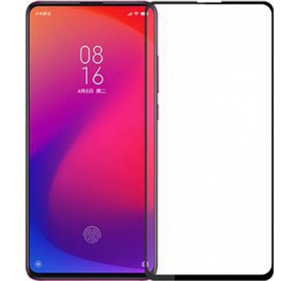 Tempered Glass Πλήρους Κάλυψης 9H 5D Full face Full glue για Xiaomi Mi 9T black