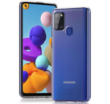 Θήκη TPU Slim για Samsung Galaxy A21s διάφανη