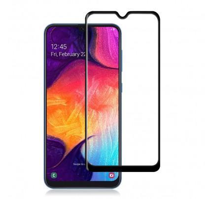 Tempered Glass Πλήρους Κάλυψης 9H 5D Full face Full glue για Samsung Galaxy A30 / A50  black