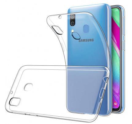 Θήκη OEM TPU Slim για Samsung Galaxy A40 διάφανη
