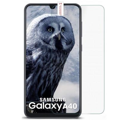 Tempered Glass 3D Full Face Samsung Galaxy A40 διάφανο