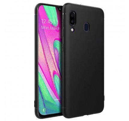 Θήκη OEM TPU Slim για Samsung Galaxy A40 μαύρου χρώματος
