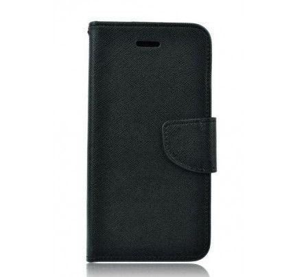 Θήκη OEM Fancy Diary για Motorola Moto G3 μαύρου χρώματος