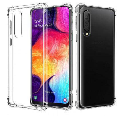 Θήκη OEM TPU Slim για Samsung Galaxy A50 διάφανη