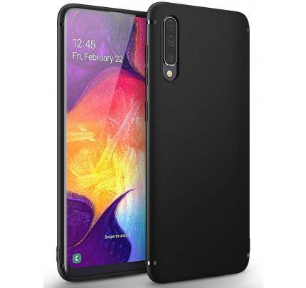 Θήκη OEM TPU Slim για Samsung Galaxy A50 μαύρου χρώματος