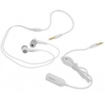 Samsung Headset Stereo AAEP433 + EMC13 White 3,5mm (χωρίς συσκευασία)