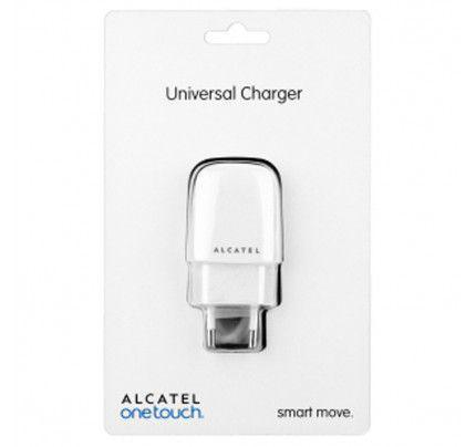 Φορτιστής Alcatel micro-USB One Touch UC12EU white original blister