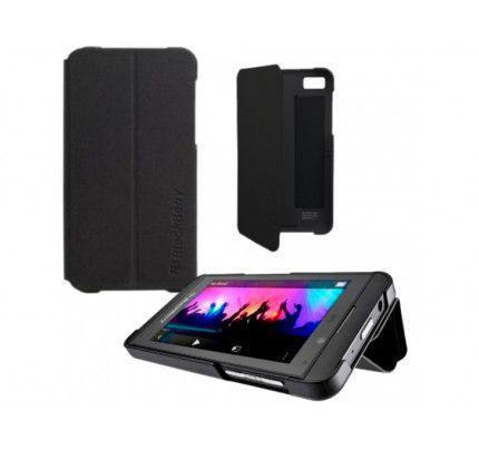 Θήκη Flip Blackberry ASY-49283-001 για Z10 Black (χωρίς συσκευασία)