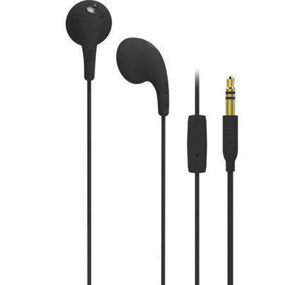 iLuv Bubble Gum Talk in Ear Handsfree black (συμβατά με iPhone και όλα τα smartphones με υποδοχή 3,5mm)