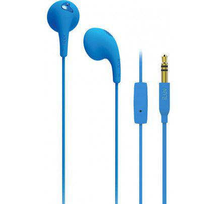 iLuv Bubble Gum Talk Handsfree blue (συμβατά με iPhone και όλα τα smartphones με υποδοχή 3,5mm)