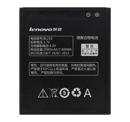 Μπαταρία Original Lenovo BL210 2000mAh Li-Ion A656 bulk
