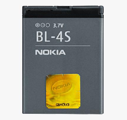 Μπαταρία Nokia BL-4S (χωρίς συσκευασία)