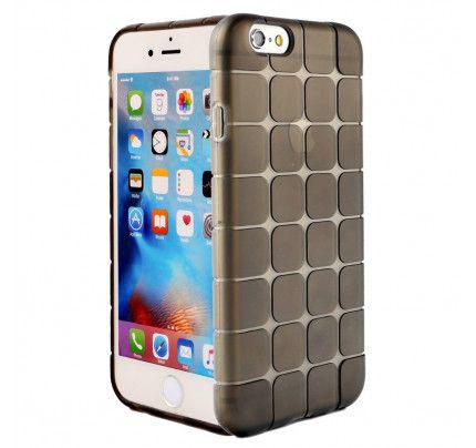 """Θήκη TPU Rubik""""s για iPhone 6 / 6s μαύρου χρώματος"""