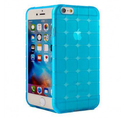 """Θήκη TPU Rubik""""s για iPhone 6 Plus / 6s Plus μπλέ χρώματος"""