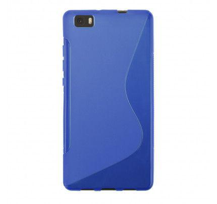 Θήκη TPU S-Line για Huawei P8 Lite blue