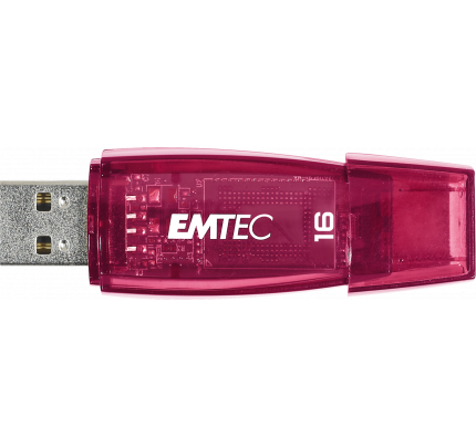 Usb Flash Drive EMTEC USB 2.0 C410 16GB Red ECMMD16GC410