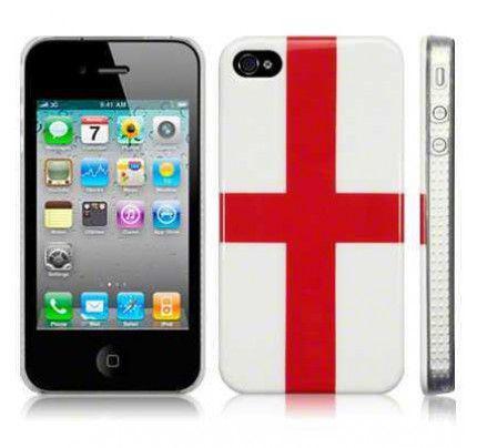"""Θήκη Glossy Image Back Case για iPhone 4 / 4s """"St George Cross"""""""