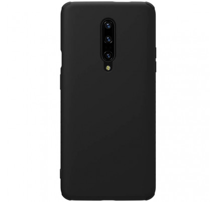 Nillkin Rubber Wrapped Protective Cover for One Plus 7 Pro Black