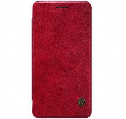 Θήκη Nillkin Qin Folio OnePlus X κόκκινου χρώματος