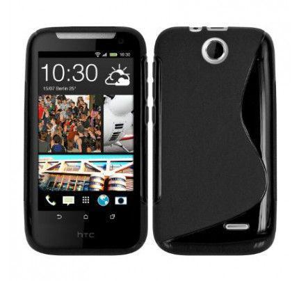 Θήκη TPU S Line για HTC Desire 310 black