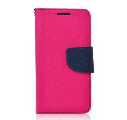 Θήκη OEM Fancy Diary για Lenovo K5 / K5 Plus ροζ μπλε χρώματος