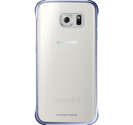 Samsung Clear Cover EF-QG925BB για Galaxy S6 edge black