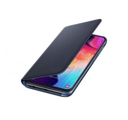 Samsung EF-WA505PBEGW Original Flip Wallet Cover Galaxy A50 black