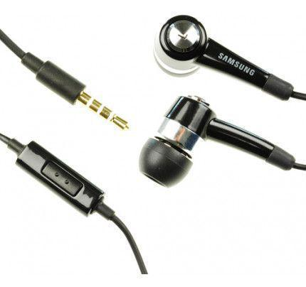 Samsung Handsfree Stereo Headset EHS44AFSBE Black (χωρίς συσκευασία)