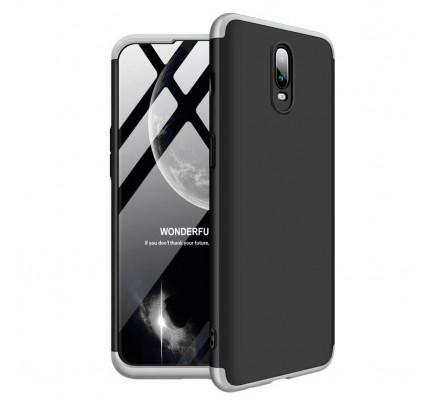 Θήκη OEM 360 Protection front and back full body για OnePlus 6T black silver