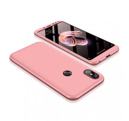 Θήκη OEM 360 Protection front and back full body για Xiaomi Redmi Note 5 pink
