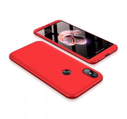Θήκη OEM 360 Protection front and back full body για Xiaomi Redmi Note 5 Red