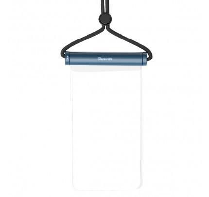 Αδιάβροχη θήκη Baseus Cylinder Slide-cover waterproof smartphone bag blue ACFSD-E03